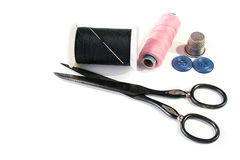Set for clothes repair Stock Image