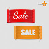 Set of clothing labels Vector Royalty Free Stock Photography