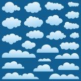 Set a cloud Stock Photography