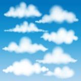 Set Of Clouds Vector Eps 10. Set Of Clouds Vector. Vector illustration EPS 10 Stock Photo