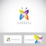 Set CMYK Farbenbetriebsart-Auslegungelemente auf schwarzem Hintergrund Lizenzfreie Stockfotos
