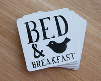 Set of coasters Stock Images