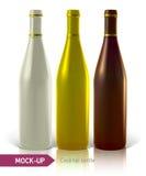 Set of cocktail bottles Stock Photo