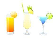Set Cocktails Stockbild