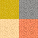 Set from coffee backgrounds Stock Photography