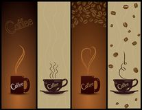 Set of coffee banners. Vector Stock Images
