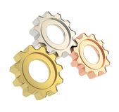 Set of a cogwheel gears Royalty Free Stock Photo