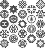 Set of cogwheels Stock Image