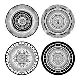 Cirlce symbols set collection Stock Photography