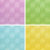 Set collection colorful Placemat, Stock Photos