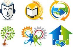 Set collection logos Royalty Free Stock Photo