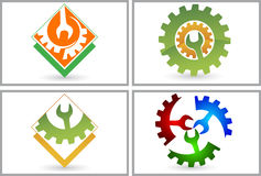 Set collection Power tool logo vector illustration