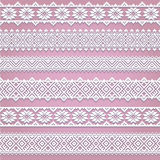 Set collection of white lace horizontal borders with shadow, ornamental paper lines Stock Image