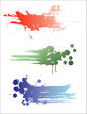 Set of color banners. Royalty Free Stock Image