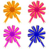 Set from color bows Stock Images