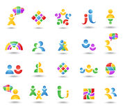 Set of color icon Royalty Free Stock Photos