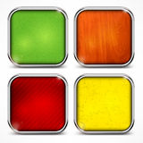 Set of color icons Royalty Free Stock Photos