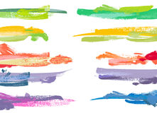 Set of color paint Royalty Free Stock Photo