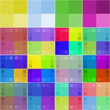 Set of 16 color palettes Stock Photography