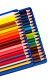 Set color pencils Stock Photos