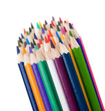 Set of color pencils Royalty Free Stock Image