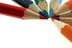 Set color pencils Royalty Free Stock Images