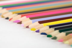 Set of color pencils Stock Images