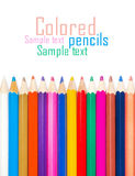 Set of color pencils for creativity Royalty Free Stock Photo
