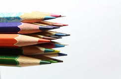 Set of color pencils. Stock Photography