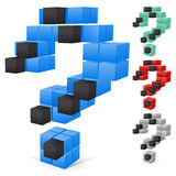 Set of colore question mark. Question mark. This is file of EPS10 format Stock Image