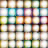 Set Of Colored Abstract Background vector Royalty Free Stock Images