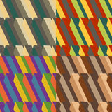Set of colored backgrounds Royalty Free Stock Photos