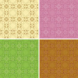 Set of colored backgrounds - vector Royalty Free Stock Photo