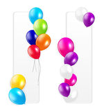Set of Colored Balloons, Vector Illustration Royalty Free Stock Photo