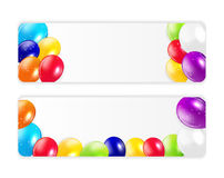 Set of Colored Balloons, Vector Illustration Stock Photography