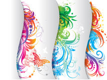 Set of colored banner. Stock Photos