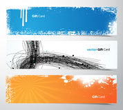 Set of colored banners. Royalty Free Stock Photo