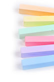 Set of colored crayons Royalty Free Stock Photos