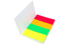 Set of colored paper Stock Photography