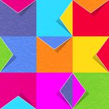 Set of colored paper envelopes vector Royalty Free Stock Images
