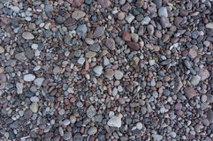 Set of colored stones of different sizes royalty free stock images