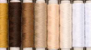 Set of colored threads Royalty Free Stock Photos
