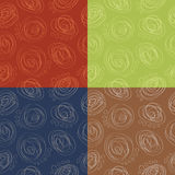 Set of colorful abstract backgrounds. Brown, green, red, and blue Royalty Free Stock Photography