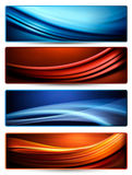 Set of colorful abstract business banners. Vector Royalty Free Stock Photo