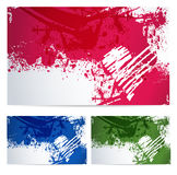 Colorful backgrounds with paint stain Stock Photo