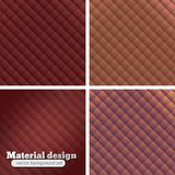 Set of 4 Colorful  backgrounds Royalty Free Stock Images
