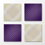 Set of 4 Colorful  backgrounds Royalty Free Stock Photography