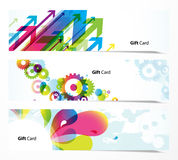Set of colorful banners. Royalty Free Stock Image