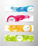 Set of colorful banners. Stock Photos