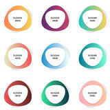 Set of colorful banners. Vector eps 10 Royalty Free Stock Photo